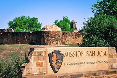 Photograph - Mission San Jose - San Antonio Texas by Gregory Ballos
