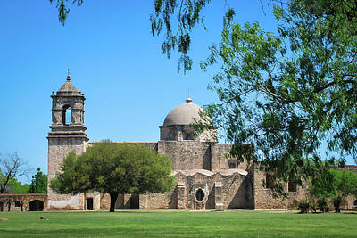 Photograph - Mission San Jose - San Antonio - Texas - Usa  by Gregory Ballos