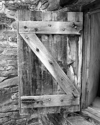 Photograph - Mission San Jose' - Shutter Bw by Beth Vincent