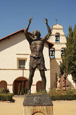 Photograph - Mission San Juan Bautista by Art Block Collections