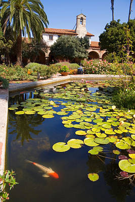 Photograph - Mission San Juan Capistrano California by Utah Images