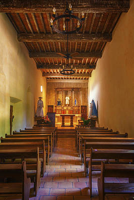 Church Photograph - Mission San Juan Capistrano Chapel Vertical by Joan Carroll