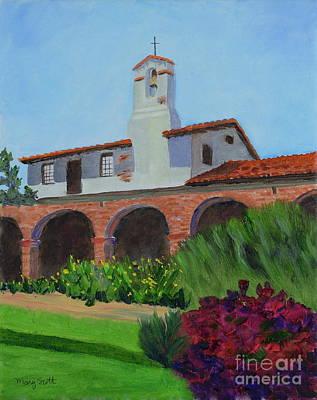 Mission San Juan Capistrano Art Print