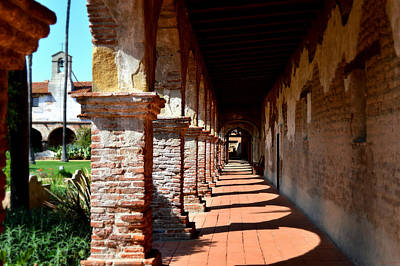 Photograph - Mission San Juan Capistrano - Sacred Walkway by Glenn McCarthy Photography