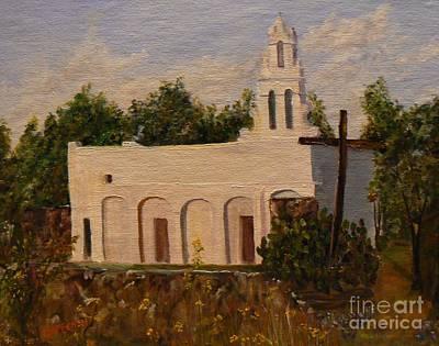 Painting - Mission San Juan Capistrano by Cheryl Damschen