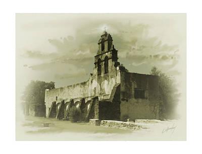 Mission San Juan Art Print by Cliff Hawley