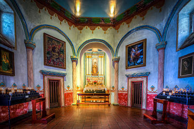 San Luis Rey Photograph - Prayer Alter by Spencer McDonald