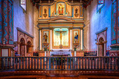 Mission San Luis Rey Photograph - Mission San Luis Rey by Spencer McDonald