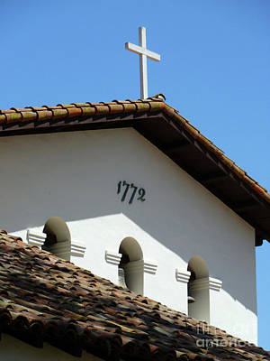 Photograph - Mission San Luis Obispo De Tolosa by Methune Hively