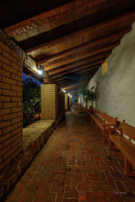 Photograph - Mission San Luis Obispo by Tim Bryan