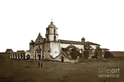 Photograph - Mission San Luis Rey De Francia, Estab. June 13, 1798, San Diego by California Views Archives Mr Pat Hathaway Archives