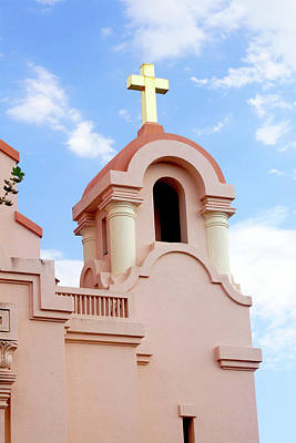 Mission San Rafael Parish Church Art Print