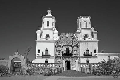 Photograph - Mission San Xavier Del Bac by David Gordon