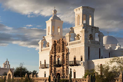 Photograph - Mission San Xavier Del Bac by Scott Rackers