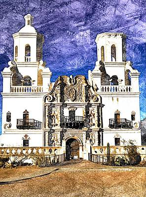 Photograph - Mission San Xavier Del Bac by Tatiana Travelways