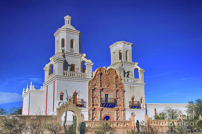 Photograph - Mission San Xavier Del Bac by Teresa Zieba