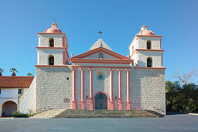 Photograph - Mission Santa Barbara by Ram Vasudev