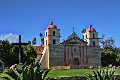 Mission santa barbara photograph by tommy anderson for Case in stile missione santa barbara
