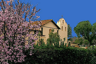 Photograph - Mission Santa Ynez by Gary Brandes