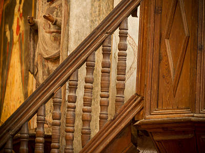Photograph - Mission Stairway by Jean Noren
