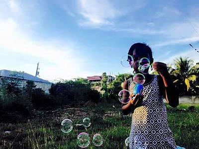 Hati Photograph - Mission Trip by Joe D Dry