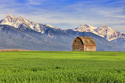 Photograph - Mission Valley Barn by Jack Bell