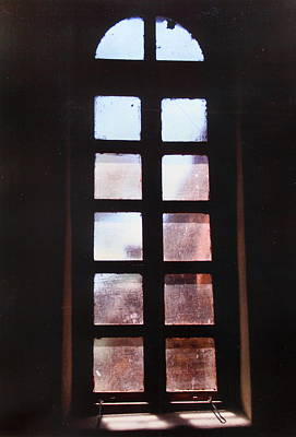 Photograph - Mission Window by M Diane Bonaparte