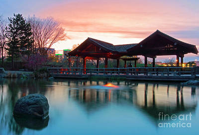 Photograph - Mississauga Japanese Garden by Charline Xia