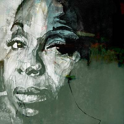 Portrait Mixed Media - Mississippi Goddam by Paul Lovering