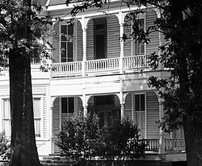 Photograph - Mississippi Haunted House by Catherine Link