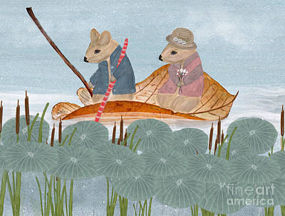 Painting - Mississippi Mice by Bleu Bri