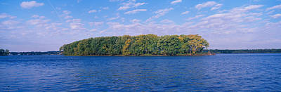 Central Il Photograph - Mississippi River Along Great River by Panoramic Images