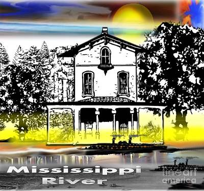 Painting - Mississippi River by Belinda Threeths