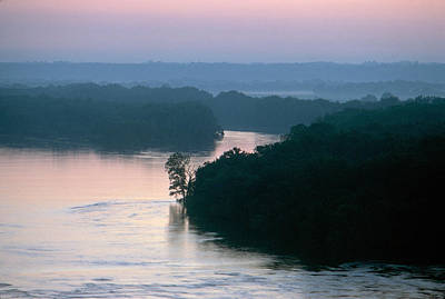Photograph - Mississippi River: Bluffs by Granger