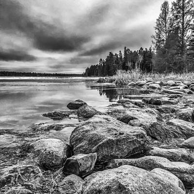 Photograph - Mississippi River Headwaters by Tom Gort