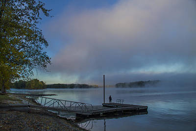 Photograph - Mississippi River In Wisconsin by Garry McMichael