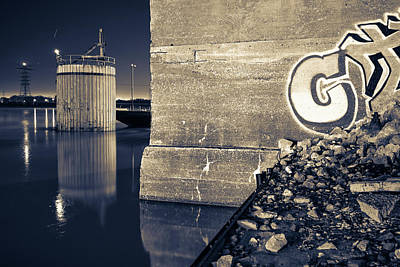 Photograph - Mississippi River Ruins - Saint Louis - Missouri - Usa by Gregory Ballos