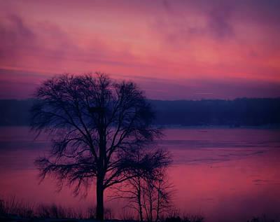 Wall Art - Photograph - Mississippi River Sunrise by Martin Belan