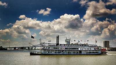 Photograph - Mississippi Riverboat by Greg Mimbs
