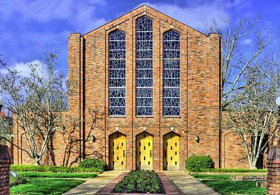 Photograph - Mississippi State Chapel Of Memories by JC Findley