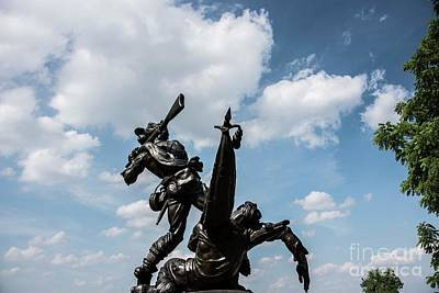 Photograph - Mississippi State Monument - Gettysburg 5 by David Bearden