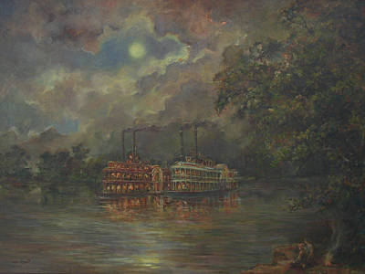 Painting - Mississippi by Tigran Ghulyan