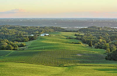Photograph - Mississippi Valley Farm by Bonfire Photography