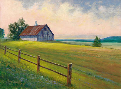 Painting - Missouri Barn by Randy Welborn