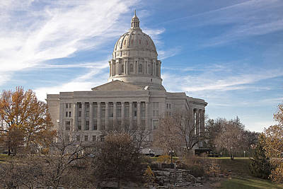Missouri Capital Art Print