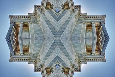 Photograph - Missouri Capitol - Abstract by Nikolyn McDonald