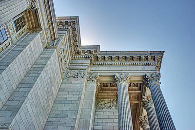 Photograph - Missouri Capitol - Exterior Detail by Nikolyn McDonald