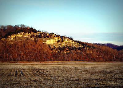Missouri Limestone Bluffs Art Print