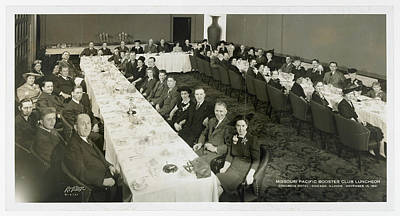 Photograph - Missouri Pacific Booster Club Luncheon, Chicago 1941 by Missouri Pacific Historical Society