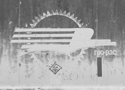Photograph - Missouri Pacific Logo by Joseph C Hinson Photography